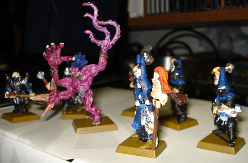 Right side view of the Warband