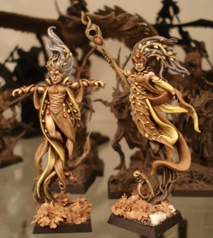 Wood Elf Spellcasters