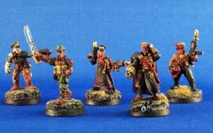 Last Chancer's, painted by DeafNala
