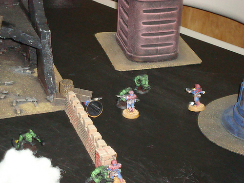 Death Squads play testing