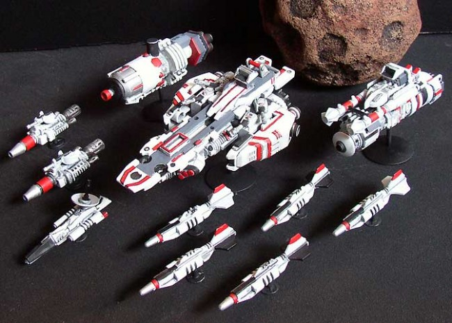 Star Crashers ships