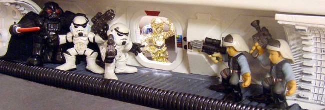Inside a classic Star Wars scene