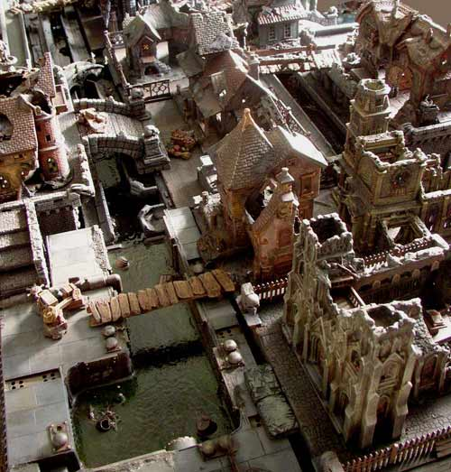 Sean Patten's Mordheim Table