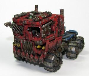 Orktimus Prime, in Truck form